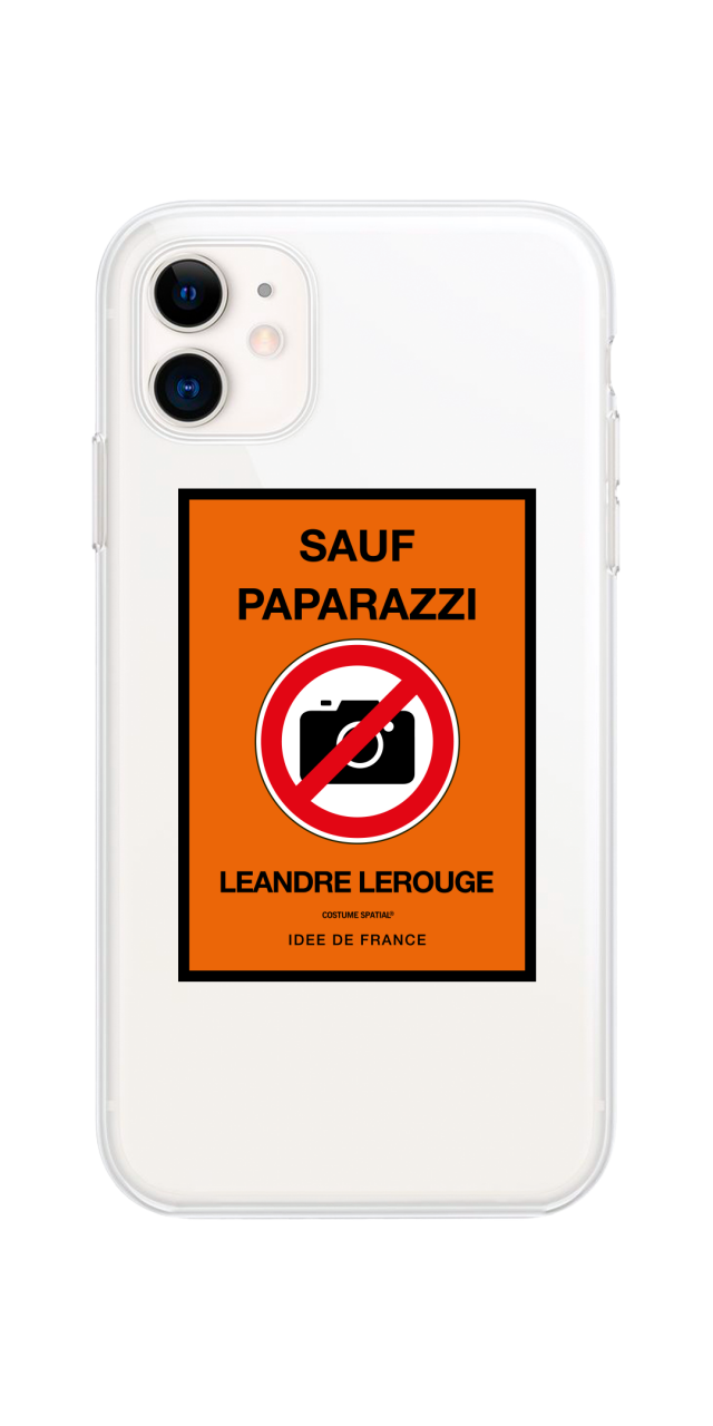 COQUE IPHONE TRANSPARENTE /...