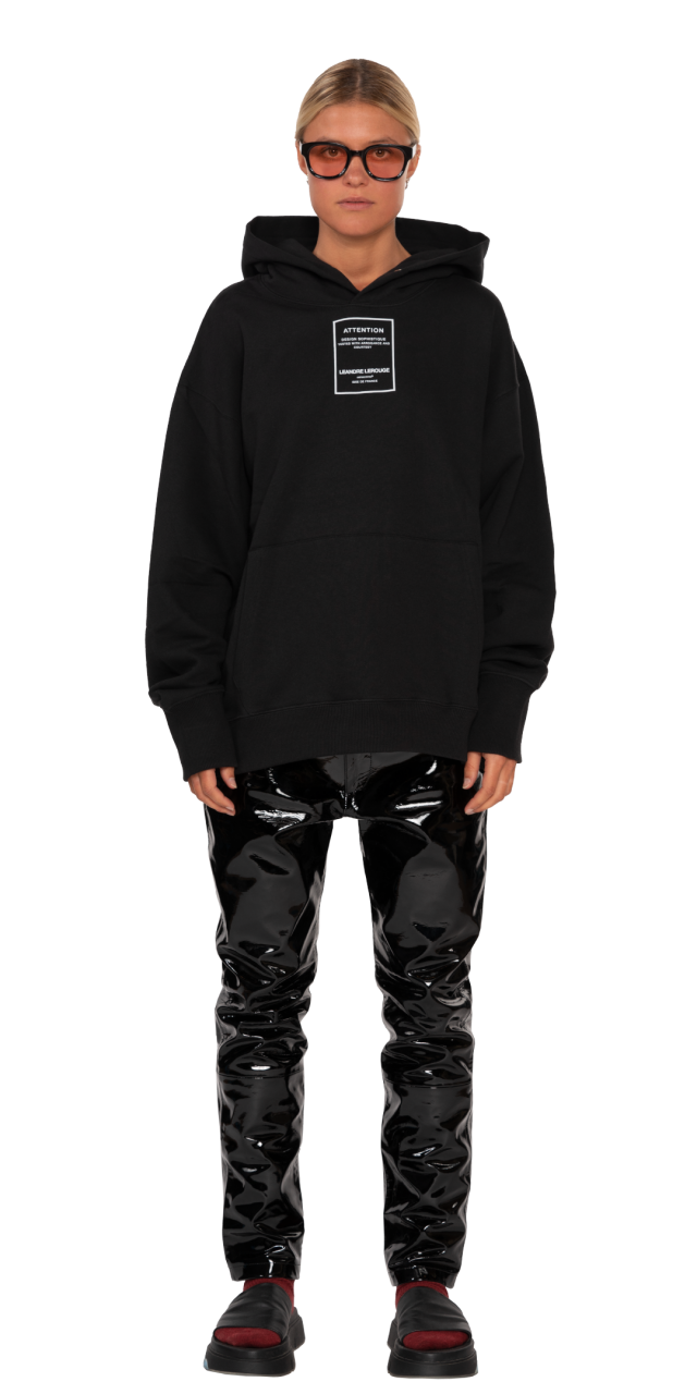 SWEAT-SHIRT HOODED / PATCH...